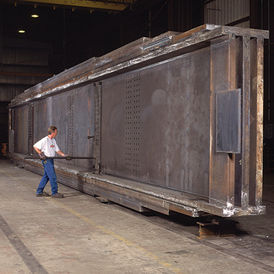 Structural Steel Fabrication Greiner Industries