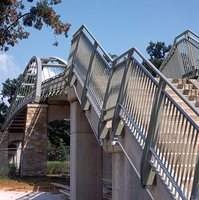 Pedestrian Bridge Stairs